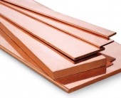 Copper flat busbars